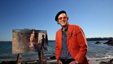 Down by the sea: Garry Shead is one of  this country's best known figurative artists.