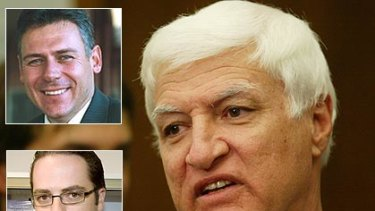 'They're courageous' .. independent Queensland MP Bob Katter has applauded the departure of Aidan McLindon and Rob Messenger from the LNP.