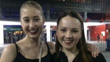 Guest reviewer Georgia Attewell-Moore with Hannah Dawes from West End.