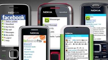 biNu makes browsing social networks on simple phones, simpler.