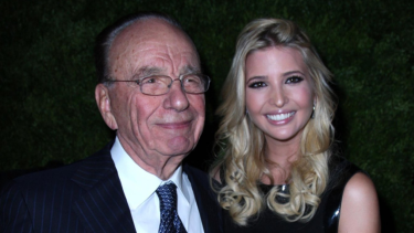 Media baron Rupert Murdoch (left) has longstanding ties with President Donald Trump, and his daughter, Ivanka (right)