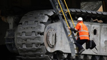 The mining sector only employs about 2 per cent of the workforce.