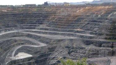 The Ranger uranium mine in the Northern Territory. Australia is the third largest uranium exporter.
