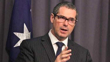 """Stephen Conroy: construction delays were """"unacceptable"""" under the former minister."""