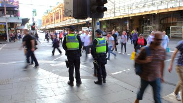 Flinders Street was again open to commuters and traffic on Friday morning as Melbourne reeled in the wake of the attack.