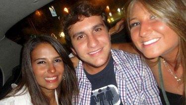 Brazilian student Roberto Laudisio Curti