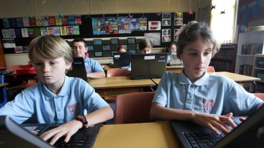 Towradgi Public School has put in a new order for laptops.