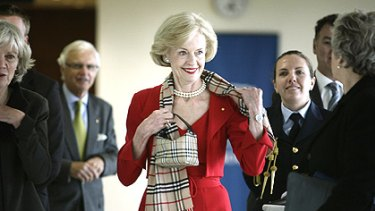 Governor-General Quentin Bryce at the Melbourne Law School.