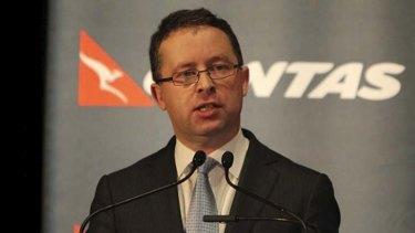 Alan Joyce ... the Qantas CEO has announced today the company will cut 500 jobs.