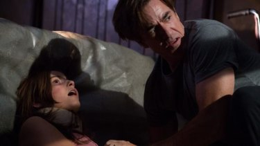 Dermot Mulroney and Stefanie Scott star in <i>Insidious: Chapter 3</i>.