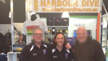 Scuba-diving instructor Leonie Hanson.
