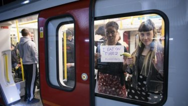 The website, which has received thousands of followers plus numerous accusations of misogyny, has sparked a protest by women on the London Underground.