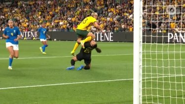 Goals to Claire Polkinghorne, Mary Fowler and Emily Van Egmond helped propel Australia to a 3-1 win over Brazil in front of 15,270 fans at Western Sydney Stadium. The game marked the Matilda's first on home soil in over 19 months.