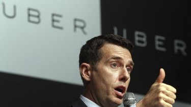 David Plouffe, of Uber, says most transport regulations were drafted before the invention of smartphones.