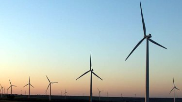 Spinning: No complaints about most wind farms.