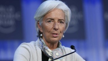 IMF chief Christine Lagarde ... French police have raided her Paris home.