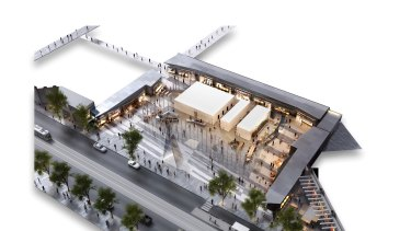 Retailers go west to get in on the ground level of the newest Collins Street office tower.