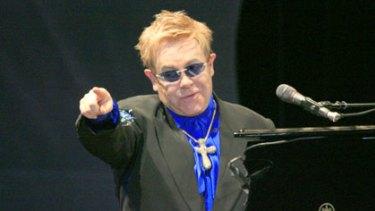 God botherer ... Elton John claims Jesus Christ was gay.