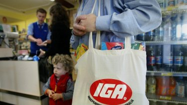 Metcash is the owner of IGA supermarkets.