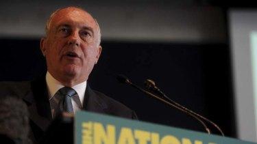 Bid for Labor seats ... Nationals leader Warren Truss.