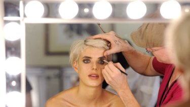 At home makeover ... get the best makeup for your face shape and skin type.