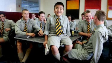 Exceptional: Jonah Soewandito is one of the youngest students to sit the HSC and says he would like to find cures for illness.