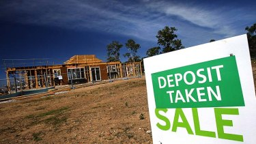 Buyers are walking away from sales and losing their deposits.