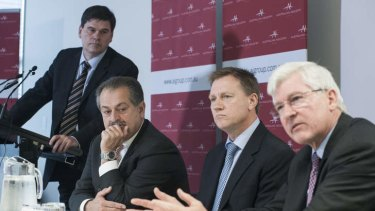 AI group's council: Innes Willox, Andrew Liveris, John Pollaers and Chris Roberts.
