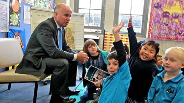 """""""Ministers of education have never had so much influence over teacher education, recruitment and course standards"""" ... the NSW Education Minister Adrian Piccoli."""