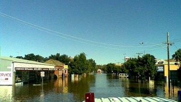 Flooding in Charlton.