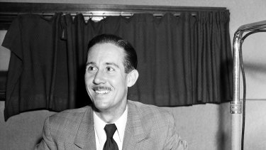 Reg Grundy began as a sports commentator in the 1950s.