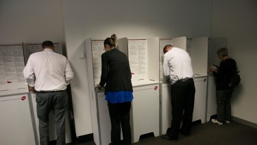 The proposed changes to Senate voting will sharply restrict voters' choices.