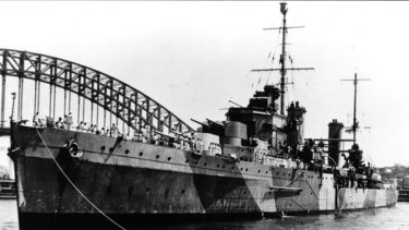 HMAS Sydney ... theory a Japanese submarine was involved.