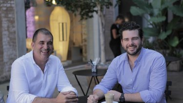 Steve Fanale and Johnny Timbs spotted a gap in the takeaway food home delivery market.