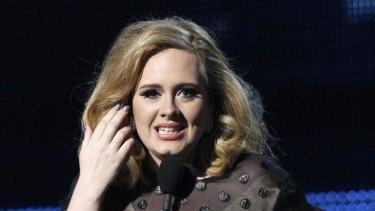 Armani take two ... Adele.
