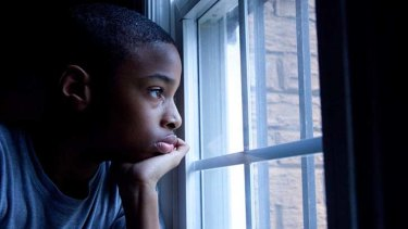 Pupil Anthony contemplates an uncertain future in the film Waiting for Superman.