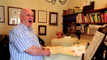 John Sloan is now living his life-long dream, working as a professional singing teacher.