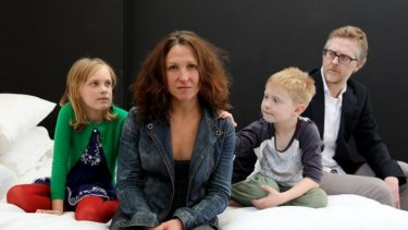 The next step: Blazey Best, as the modern-day Nora, front, in rehearsals with, from left, Ava Strybosch, Finn Dauphinee and Damien Ryan for the play Nora.