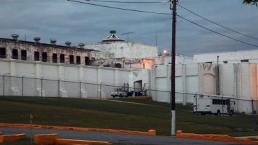 A photo of Oklahoma State Penitentiary in McAlester after Robert Patton stopped the execution of Clayton Lockett. It took Lockett 43 minutes to die.