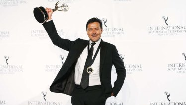 <i>Go Back to Where You Came From</i> producer Michael Cordell wins a 41st International Emmy award.
