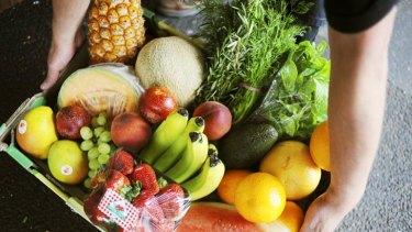 Fresh ideas … fruit and vegetables every day. <em>Photo: Josh Robenstone</em>