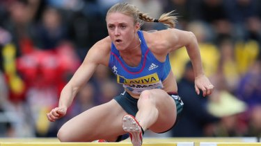 Not surprised ... Sally Pearson was just disappointed by her performance.