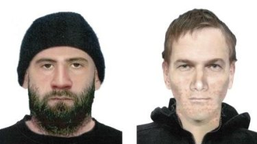 Police want to speak with these two men.
