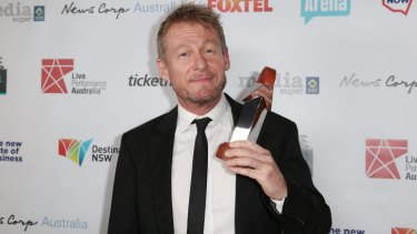 Richard Roxburgh won the award for Best Male Actor in a Play for <i>Waiting for Godot</i>.