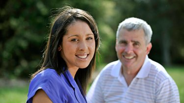 Symone Anstis and her father Michael, a solicitor, have won a four-year battle with the Tax Office.