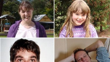 Chantelle McDougall, 30, her daughter Leela, 6, together with partner Gary Feldman (bottom right), 45, and friend Antonio Popic, 40, went missing in October 2007.