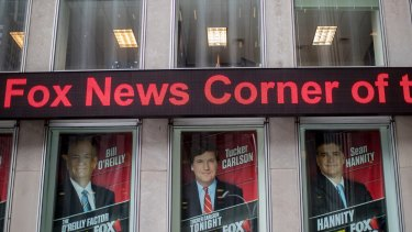 Bill O'Reilly's poster was still hanging outside News Corp headquarters in New York last week.