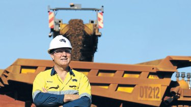 Strength: Nev Power is confident that iron ore will remain profitable.