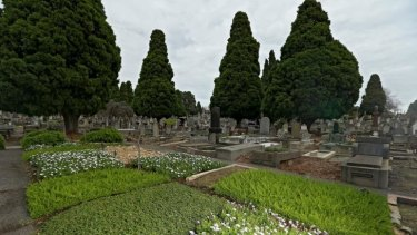 The gardens at Boroondara General Cemetery have been restored after years of neglect.