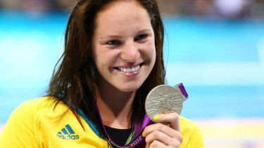 """Emily Seebohm ... """"Ninth is like second in a way, you just missed it."""""""